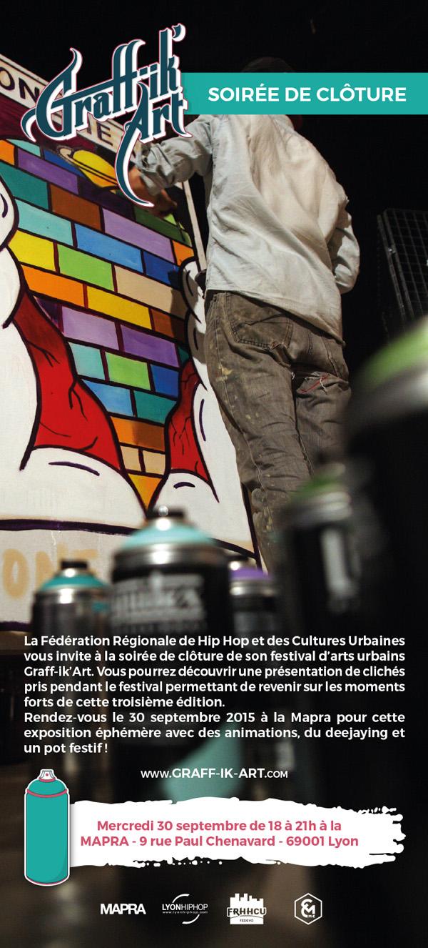Expo photo clôture Graff-ik'Art