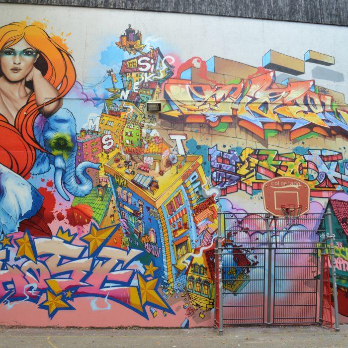 Thème libre Graffiti lettrage et perso